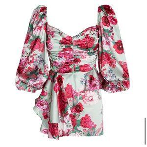FOR LOVE & LEMONS Robin Mini Dress Size Small